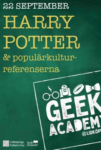 Geek Academy: Harry Potter & populärkulturreferenserna