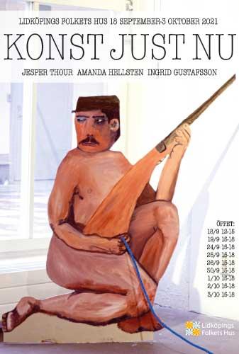 Affisch för Konst just nu 2021