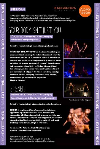 Affisch för Your Body Isnt Just You