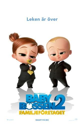Affisch för Baby-bossen 2 - familjeföretaget
