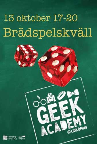 Geek Academy: Brädspelskväll